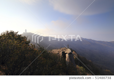 비슬산강우레이더관측소,대견사지삼층석탑,비슬산,달성군,대구 51480738