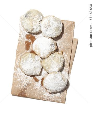 설탕,가루설탕,빵 51481838