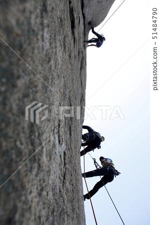 암벽타기,인수봉,북한산,고양시,경기도 51484790
