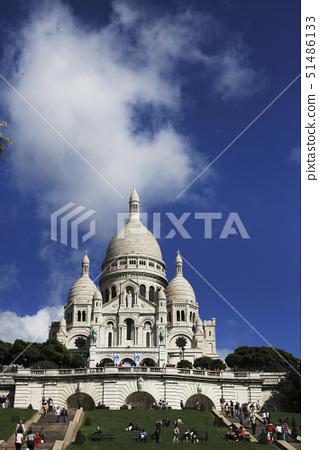 샤크레퀘르,몽마르뜨르,파리,프랑스 51486133