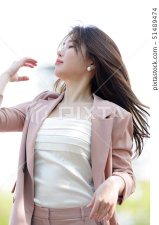 대한민국 여성의 표정, 라이프 스타일, 공원에서의 휴식 51489474