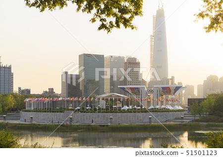 제2롯데월드,평화의문,올림픽공원,잠실,송파구,서울 51501123
