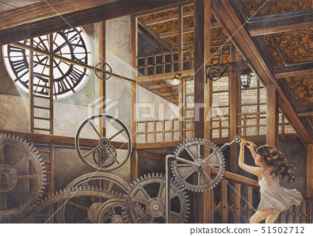 Something Strange About the New Clock 51502712