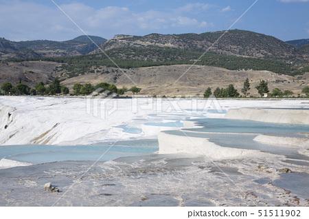 석회붕,파묵칼레,터키 51511902