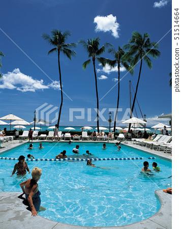 와이키키,호놀룰루,하와이,미국 51514664