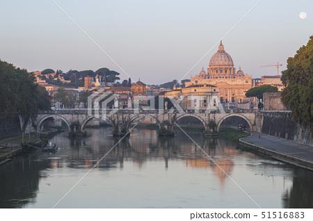 성베드로성당,티버강,바티칸,로마,이탈리아 51516883