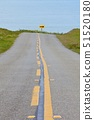 USA,California,Point Reyes National Seashore,Countryroad with sea in background 51520180