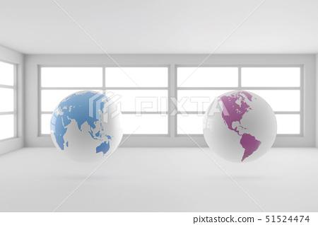 세계지도,지구 51524474