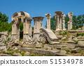 Ruins in Yuanming yuan at Beijing, China 51534978