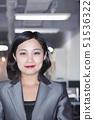 Portrait of smiling businesswoman in Beijing 51536322
