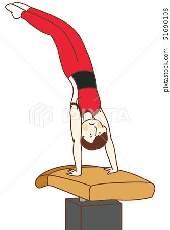 Boar Male gymnast 51690108