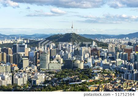 N서울타워,서울성곽,남산,중구,서울 51752564