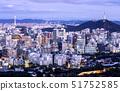 야경,N서울타워,서울성곽,남산,중구,서울 51752585