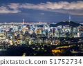 야경,N서울타워,서울성곽,남산,중구,서울 51752734
