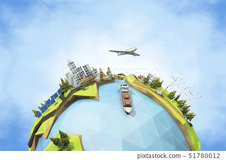 지구,화물선,비행기 51780012