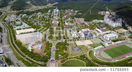 항공촬영,경상대학교,진주시,경남 51788893