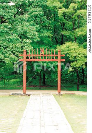 홍살문,구리동구릉(사적193호),구리시,경기도 51795819