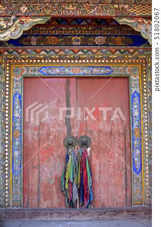 문,사원,라블랑스,동티벳,감숙성,중국 51802067