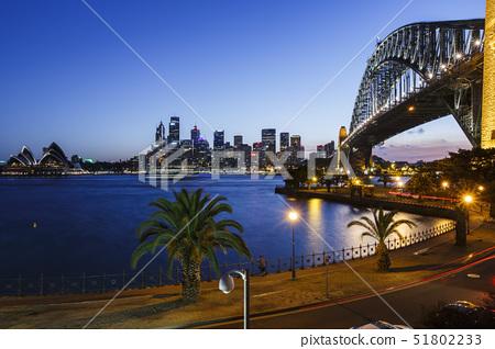 하버브릿지,오페라하우스,시드니,뉴사우스웨일스주,호주 51802233
