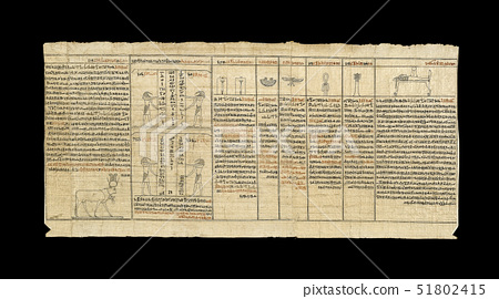 Papyrus from the Book of the Dead of Ankhwahibre 51802415