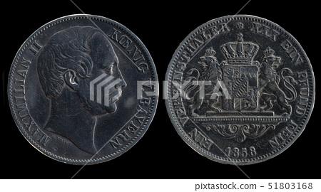 Silver vereinsthaler coin 51803168