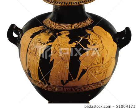 Red-figured water jar (hydria) 51804173