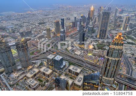 전망대,부르즈할리파,두바이,아랍에미리트 51804758