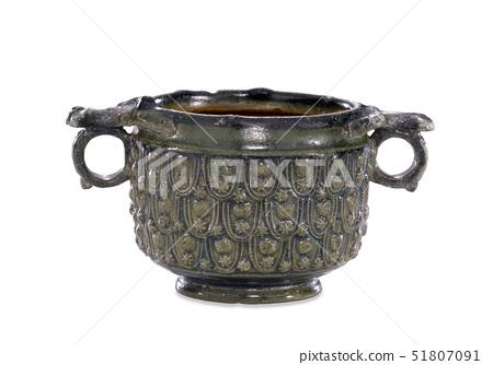 Lead-glazed pottery drinking cup (skyphos) 51807091