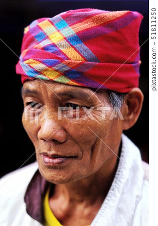 Philippines(Filipino),Mindanao,man Tboli near Sebu lake, 51811250