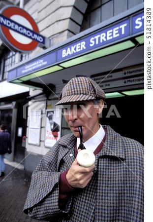 UK,London,Sherlock Holmes, 51814389