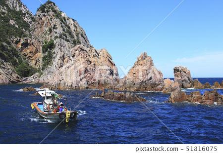 어선,홍도,다도해해상국립공원,신안군,전남 51816075