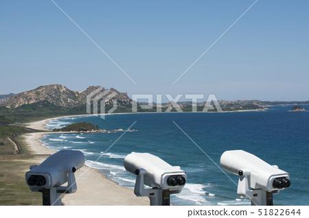 망원경,통일전망대,금강산,구선봉,해금강,고성군,강원도 51822644