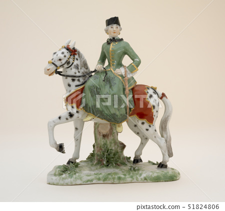 Figure of lady rider,Ludwigsburg Porcelain Factory,Germany,1760 51824806