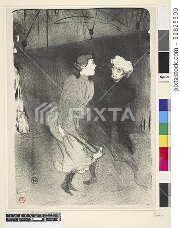 Toulouse-Lautrec,Rition gale aux Folies-Berge - Emilenne D'Alenn et Mariquita 1893 51825309