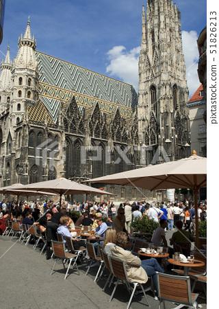 Austria,Vienna,Stephansplatz,Saint Stephen 's Cathedral(Stephansdom) 51826213