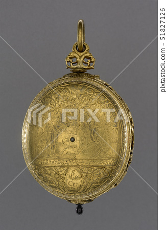Gilt-Brass oval cased verge watch with alarm,London,c.1625 51827126
