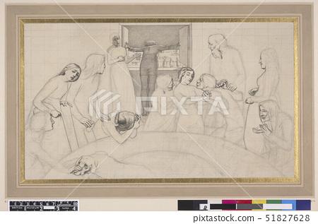 The Eve of the Deluge,illustration to the Bible,St Matthew,XXIV,38. John Everett Millais (1829-1896) 51827628