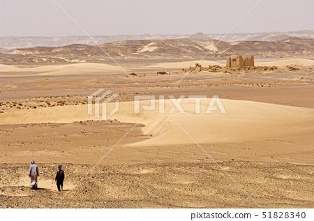 Egypt,Libyan Desert,Umm el Dabadib Fortress in North East Kharga, 51828340