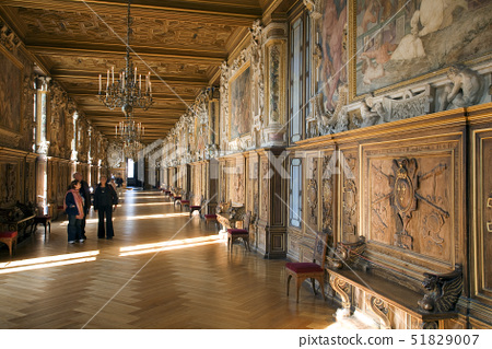 France,Seine et Marne,Royal chateau de Fontainebleau listed as World Heritage by UNESCO 51829007