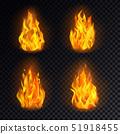เปลวเพลิง,ไฟ,เวกเตอร์ 51918455