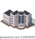 Business modern 3d urban building 52063890