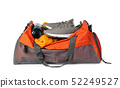 Sports bag with sports equipment 52249527