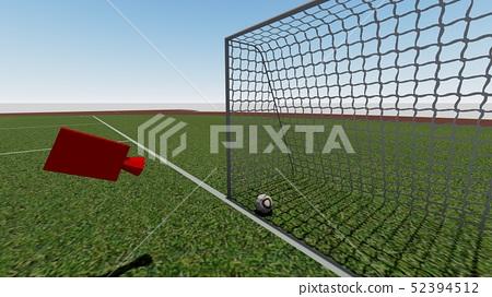 VAR錄影決定足球比賽例證10 52394512