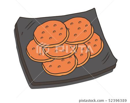 米餅乾米餅 52396389
