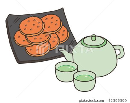 米餅和茶米餅和茶 52396390
