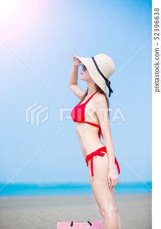 summer sunblock concept 52396638