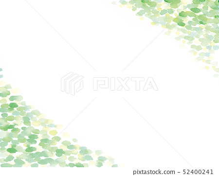 New green water color background illustration 52400241