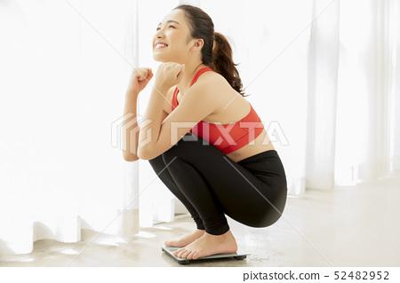 女性運動健康 52482952