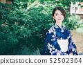 ผู้หญิงยูกาตะและถนนในเกียวโต 52502364