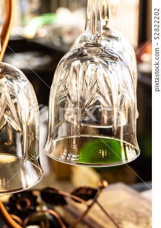 glass transparent thin leg carved wine-glass 52822202